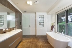bathroom remodeled in cherry hill